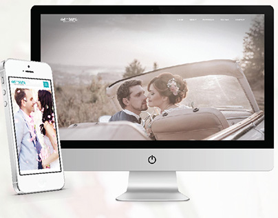 me-Sara - Wedding Photographer Responsive Web Design