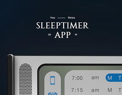 Sleep Timer App Concept