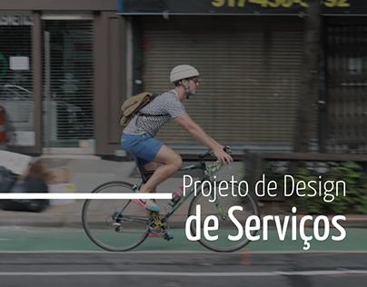 Projeto de Design de Serviços | Bicicletário PUCPR