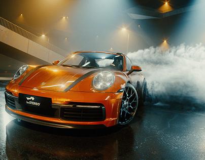 Porsche Drift Concept