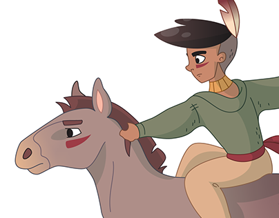 Foal Rider — Character Design