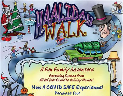 Holiday Walk Poster