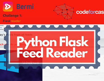 Coding Challenge - Python Flask Feed Reader & API