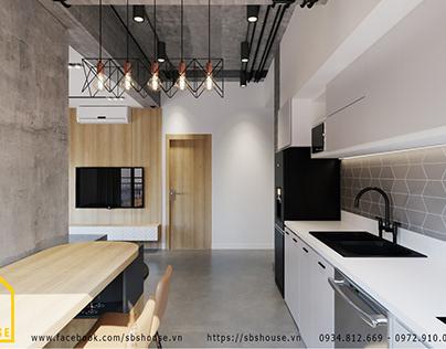 Thiết kế nội thất căn hộ chung cư đẹp tiết kiệm chi phí