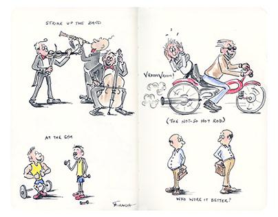Among Men - Moleskine Art Sketchbook