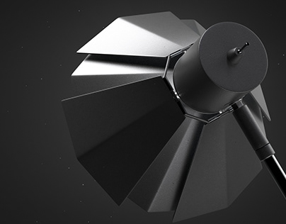 Oxalis : Variable geometry lamp