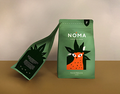 Noma coffee. Packaging concept