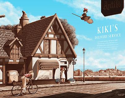 Kiki's Deliver Service