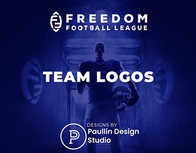 Freedom Football League Logos