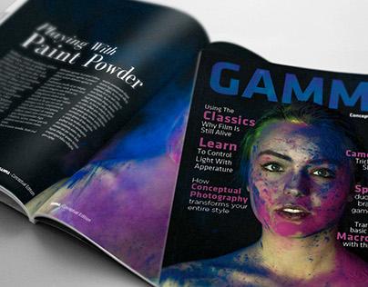 Gamma Magazine (Conceptual Edition)