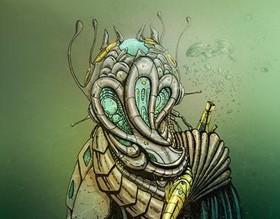 Yulunga - Robot Portrait