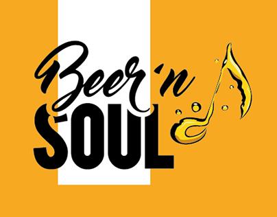 Beer'n Soul - Logo Restyling & Merchandising
