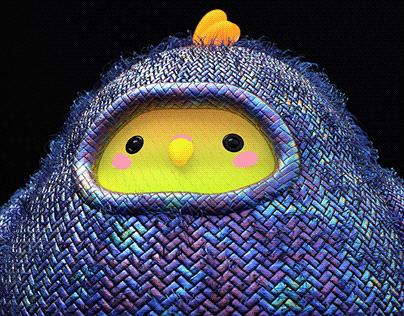 Sweater bird