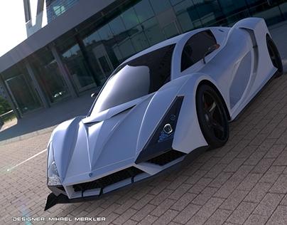 KSANTIKA GT Concept-Macedonian supercar