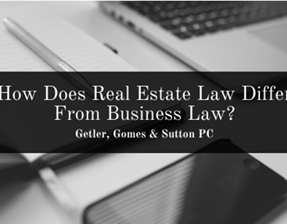 Real Estate Law Vs. Business Law