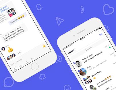 Chat UI Concept