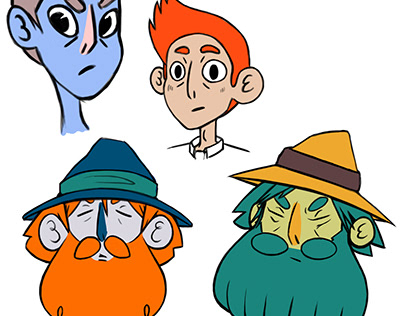"""Rewarding Wizard"" Character Development Concept Design"