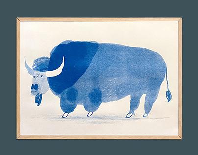 Buffalo A3 risograph