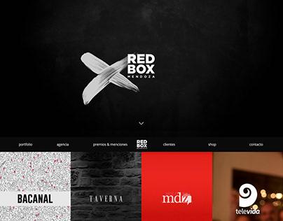Portfolio web de Red Box. Mendoza, Argentina