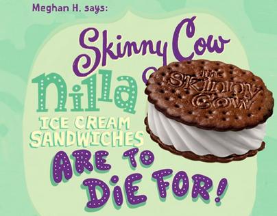 Skinny Cow Cousin/Triplet Campaign