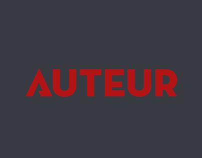 AUTEUR UX/UI Concept