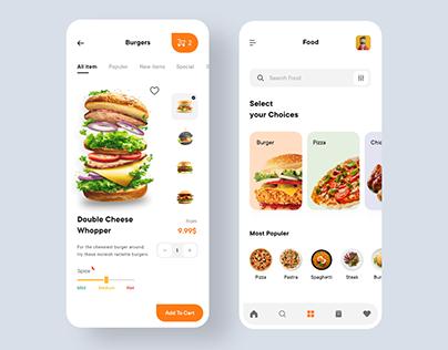Burger Boys: Food App Ui 🍔
