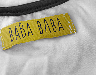 """""""BABA"""" minimal kids accessories design project"""