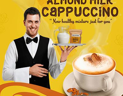 Cilantro Almond Milk Cappuccino Campaign