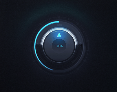 Audio GUI Knob Design