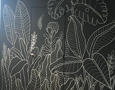 Botanical Mural