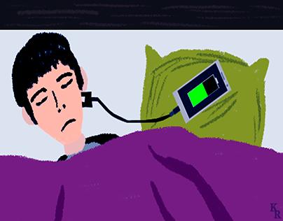 Smartphone Insomnia