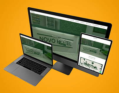 Website - Novo Hotel Pitangui