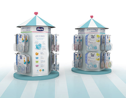 Chicco - Pacifier display