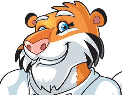 Uniroyal Tigers claw Brand Character
