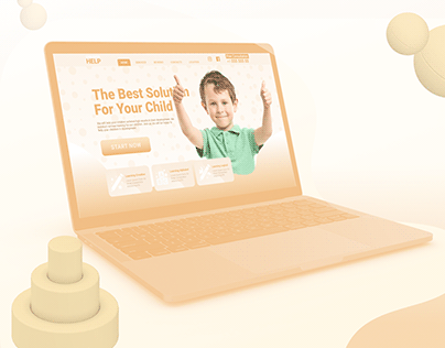 UI/UX: Web Design: Children's help