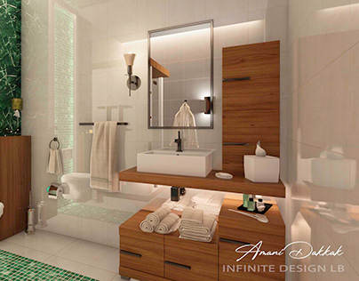 Bathroom Modern Interior Design Decoration