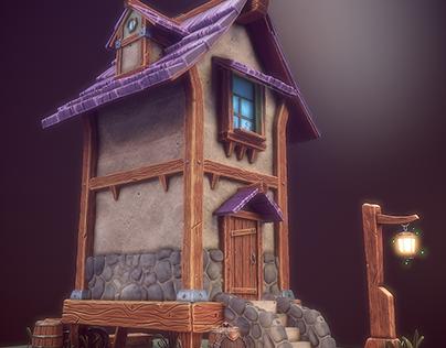 Tiny Tall House