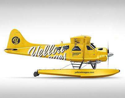 Seaplane Mockup