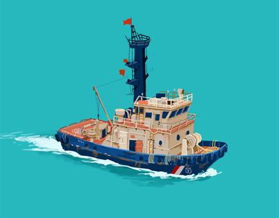 I like the boat