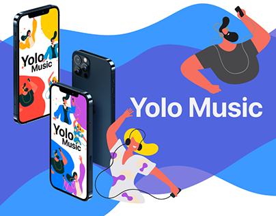 Yolo Music - Music Player / Музыкальный плеер / Музыка
