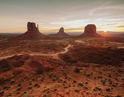 On the Road II / Arizona