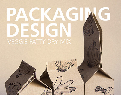 Veggie Patties (Packaging Design)