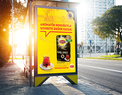 "Lipton's ""Let's Speak"" poster's for retailers"