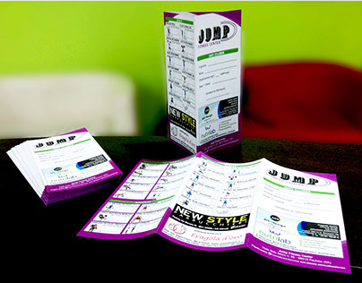 Jump Fitness Center - Brochure Design