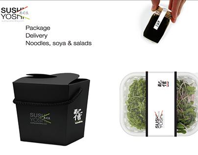 Full rebranding of Sushi Yoshi logo & deliverables