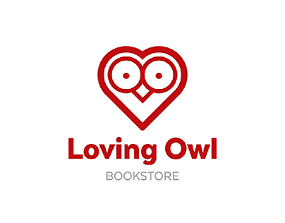 Loving Owl / Branding for a bookstore.