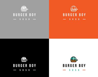 Burger Boy   Logo Design