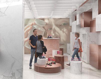 Cosmetic Brands' Showroom