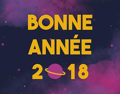 Carte de vœux 2018
