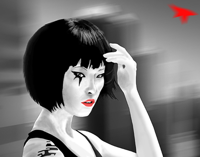 Faith (Mirror's Edge) Fanart